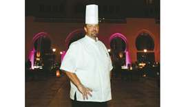 James Norman, executive chef at St. Regis Hotel