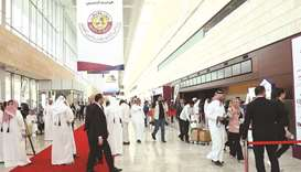 Participants of the first edition of the Build Your House 2020 exhibition held at the QNCC.