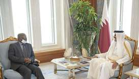 HH the Amir wished the Ambassador success in his future missions, and for the relations between the
