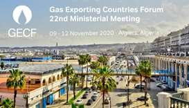 GECF 22nd Ministerial Meeting on November 12