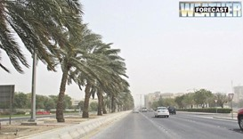 Forecast for windy, dusty conditions in coming days