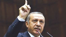 Erdogan: his office says the president's 'Hitler's Germany' metaphor has been distorted by some news