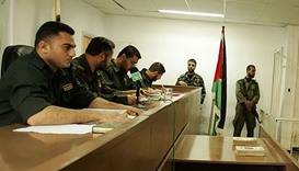 A military court in Gaza