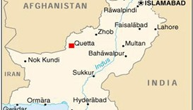 Gunmen kill four paramilitary police in Pakistan's Quetta