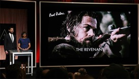 'The Revenant' tops Oscars nods with 12