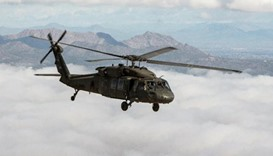 US searching for two military helicopters after reported collision