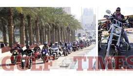 Hundreds take part in GCC charity bike show