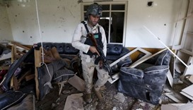 Suicide bomber kills 14 in eastern Afghan city