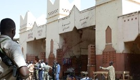 Cameroon mosque