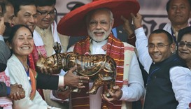 Modi launches Assam poll campaign, slams Congress