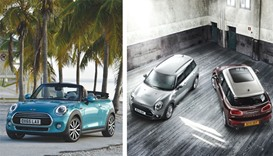 The Mini Cabrio Right: The Mini Clubman