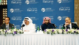 Al Rayyan Tourism Investment Company (Artic) vice chairman Sheikh Mohammed bin Faisal al-Thani and o
