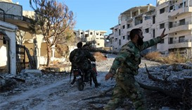 Syrian army soldiers