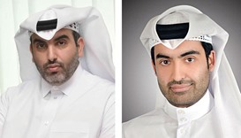 QTA's exhibitions head Hamad al-Abdan. Right: QTA's exhibitions head Hamad al-Abdan.