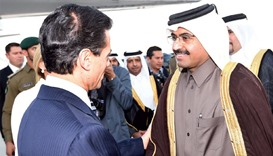 Mexican President Enrique Pena Nieto arrived in Doha yesterday on a two-day official visit to Qatar.