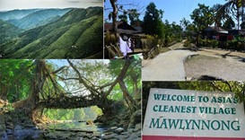 'India's cleanest village' clings on to its serenity