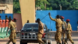 Burkina arrests 11 failed coup soldiers after arms depot raid
