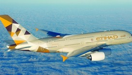 Etihad Airways to suspend flights to and from Qatar from Tuesday