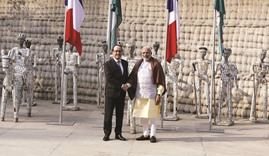 Rafale deal will take time, says Hollande
