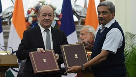 France, India sign Rafale agreement, no deal on price