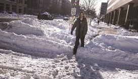 Washington faces days of clean-up after epic blizzard