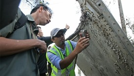 MH370 suspected part- thailand