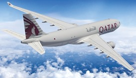 The A330F will fly to three new destinations on Qatar Airways Cargo's network — Prague, Budapest and
