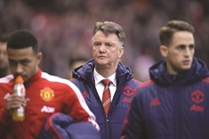Van Gaal denies resignation ahead of FA Cup Derby duel