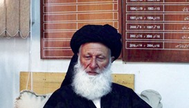 Mohamed Khan Sherani, Chairman of Council of Islamic Ideology that advises the government on the com