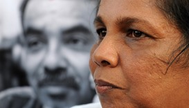 Lankan woman's six-year fight to find her missing journalist husband