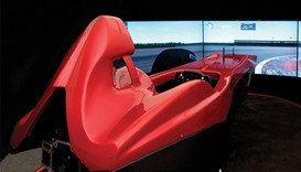 The Evotek simulator helps you experience the thrill of driving a Formula 1 car within the comfort o