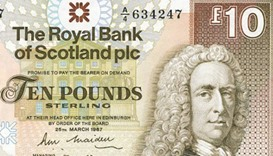 Three scientists on shortlist to appear on new Scottish banknote