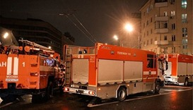 At least 12 dead in Moscow factory fire