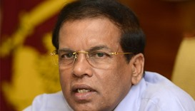 Sri Lanka president pledges land for 100,000 war victims