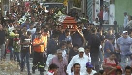 Mexico mayor's killing 'a threat to others'