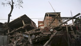 Eight dead as strong quake hits northeast India