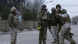 Afghan forces besiege insurgents near Indian consulate