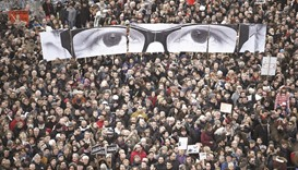 A year after 'Je suis Charlie', a divided France struggles