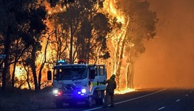 Bushfire destroys nearly 100 homes in Western Australia