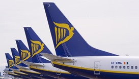 Some Ryanair pilots in Ireland to strike, German union steps up pressure