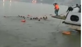 At least 19 dead as boat capsizes in India