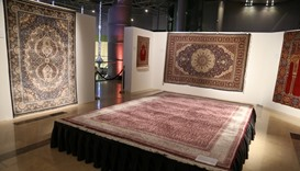 Hereke Carpet exhibition