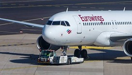Germany-bound Eurowings flight lands over bomb scare
