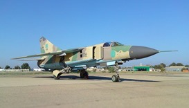 Fighter jet shot down over Libya's Benghazi
