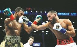 DeGale battles to a draw with Jack in unification fight