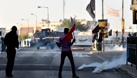 Execution protest: Building torched in Bahrain
