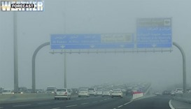 Met Dept. warns of poor visibility tonight
