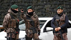 Turkey detains four IS suspects planning attacks