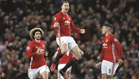 Outside pressure child's play for Ibrahimovic