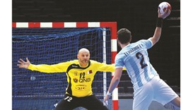 Saric secures second win for Qatar against Argentina